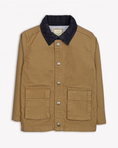 Beige Canvas Jacket
